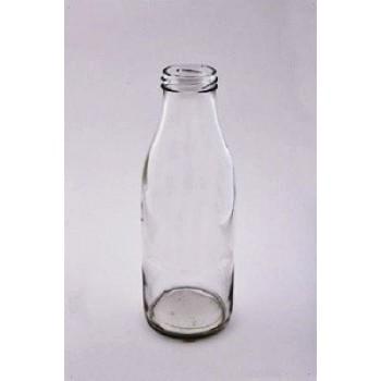 Стеклянная бутылка с винтовым горлом 0,5 л