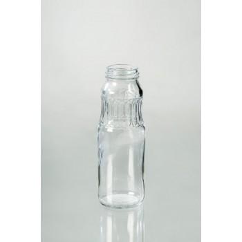 Стеклянная бутылка с винтовым горлом 0,25 л