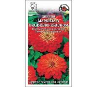 ЦИНИЯ МАРКИЗА В ОРАНЖЕВО-КРАСНОМ