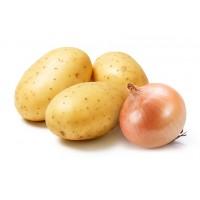 Лук-севок, картофель семянной