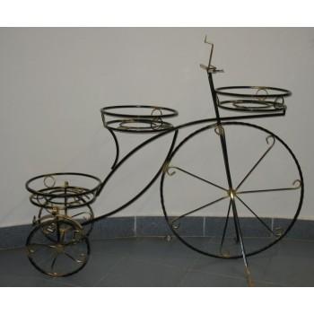 купить Подставка Велосипед большой 3 ячейки в новосибирске, купить Подставки и опоры для растений в новосибирске